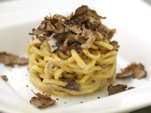 Avalon Beverly Hills pasta with truffles