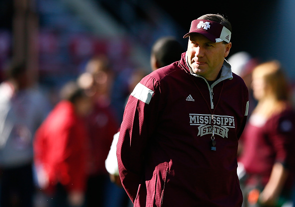 Head coach Dan Mullen of the Mississippi State Bulldogs.  (Photo by Kevin C. Cox/Getty Images)