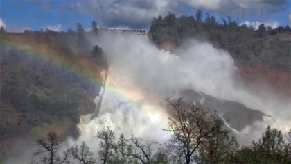 Water Release Oroville Dam