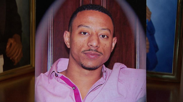Photo of Lance Lemons. The 27-year-old was shot and killed by a tow truck driver in Dallas. (credit: CBSDFW.COM)