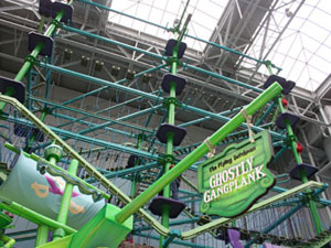 The Flying Dutchman Ghostly Gangplank Adventures Ropes Course