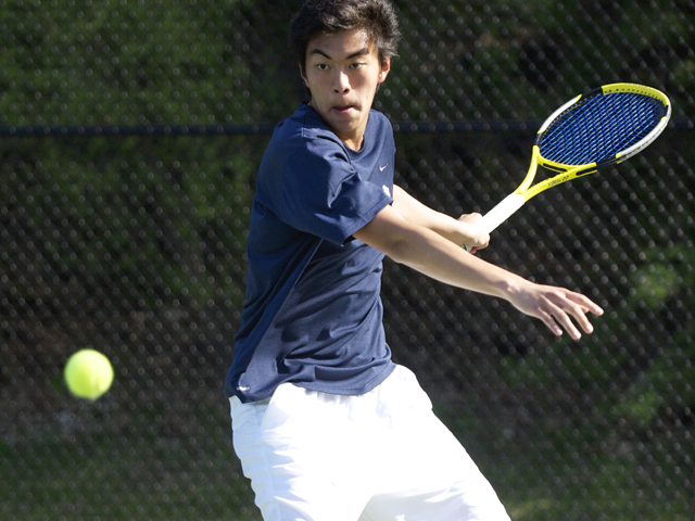 Jiang has just the French Open left on his personal Grand Slam tour. (credit: Carleton College)