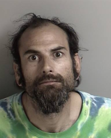 Jonathan Paget's booking photo. (Credit: El Dorado County Sheriff's Office)