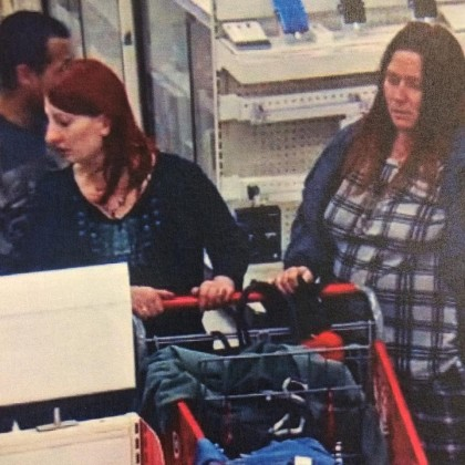 All of the suspects at Target where police say they tried to use the victim's card. (Credit: Modesto Police)