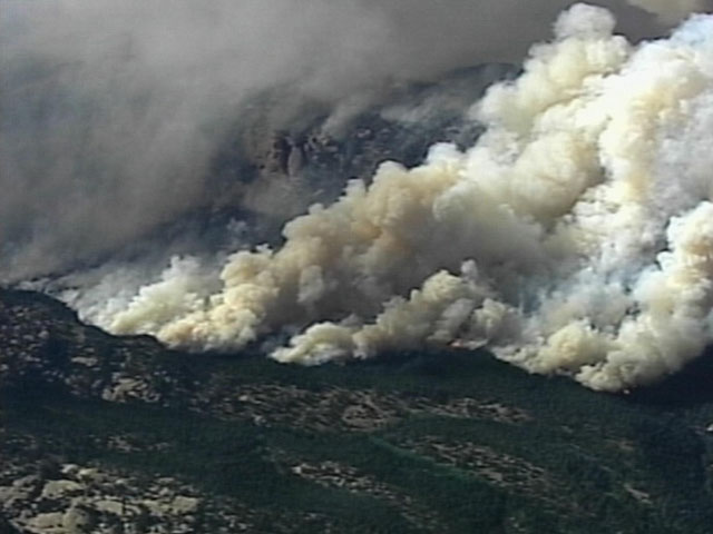 The Hayman Fire burned over 137,000 acres in 2002. (credit: CBS)
