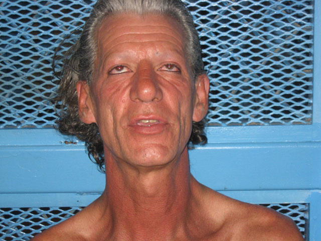 A 2011 mug shot of Daryl Rasmussen after being arrested in California following the double murder (credit: Palm Springs Police)