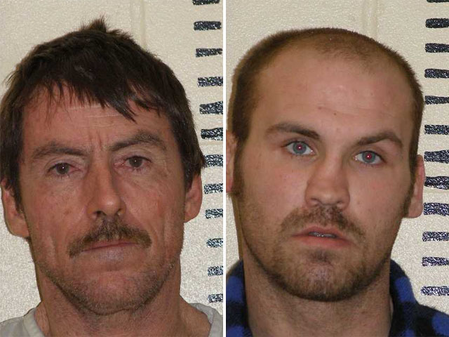 Lester Vann Waters Jr. and Michael Keith Spell (credit: Williams County Sheriff's Department)