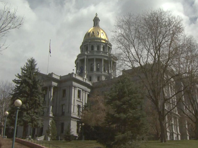Colorado State Capitol (credit: CBS)