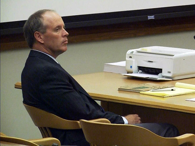 Dale Bruner in court (credit: CBS)