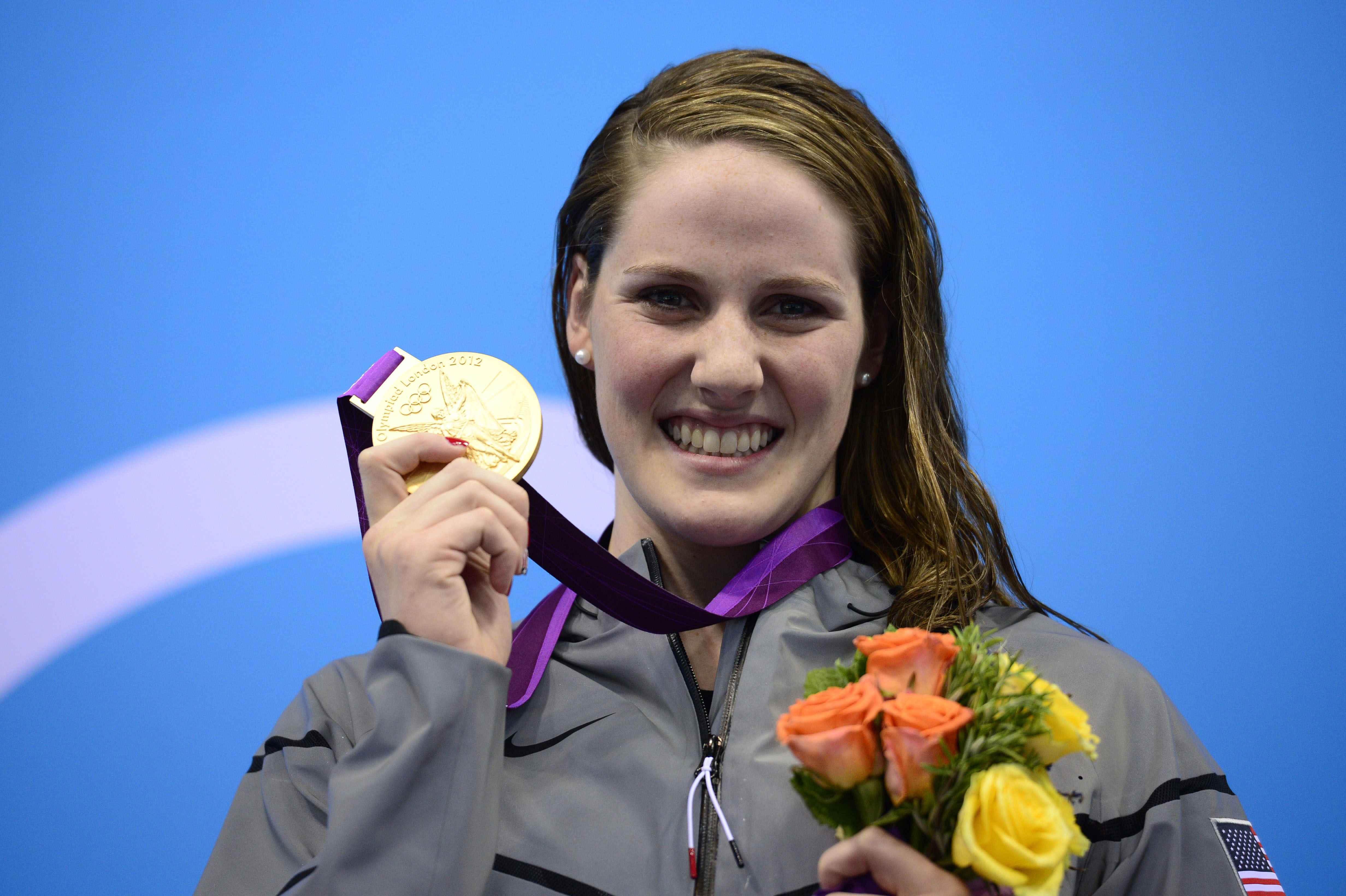 Colorado's Missy Franklin At The Olympics