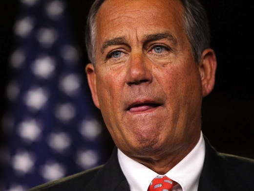 U.S. Speaker of the House Rep. John Boehner (R-OH) (Photo by Alex Wong/Getty Images)