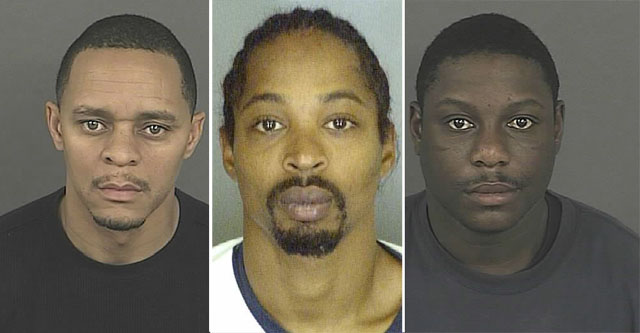 Andre Jackson, Samuel Sims, Jackie McConnell (credit: Denver District Attorney's Office)