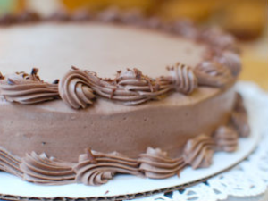 Spruce Confections chocolate cake (credit: Kimberly Lord Stewart)