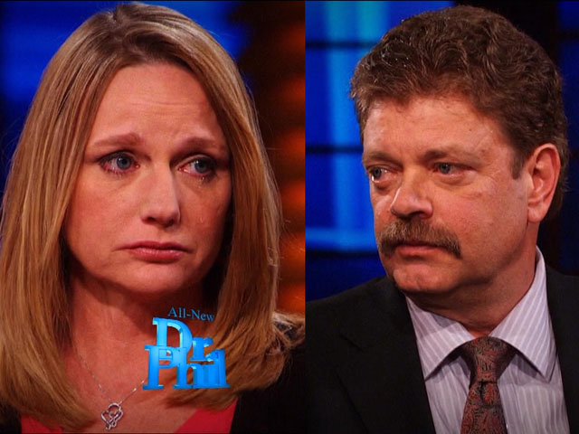 Elaine and Mark Redwine on Dr. Phil (credit: CBS)