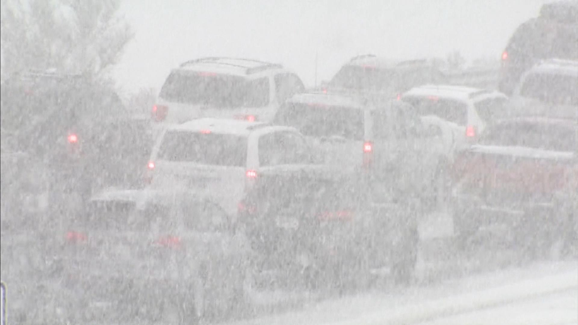Interstate 70 in Mt. Vernon Canyon  (credit: CBS)