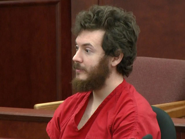 James Holmes in court on March 12, 2013 (credit: CBS)