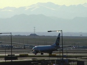 Denver International Airport (credit: CBS)