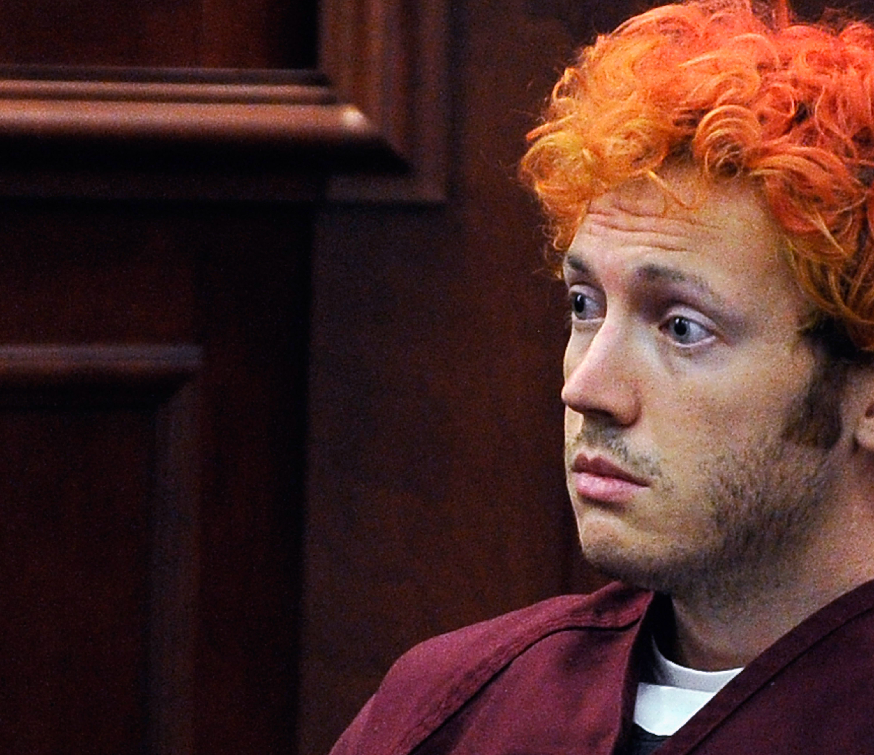 File photo of James Holmes. (credit: RJ Sangosti-Pool/Getty Images)