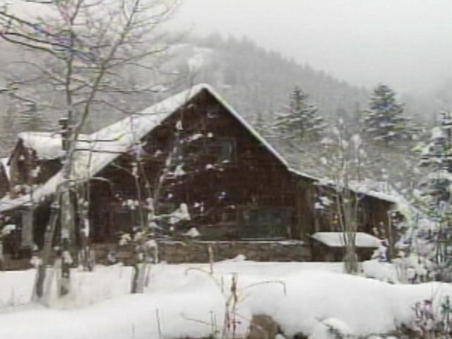 The home where the Lufgren family died (credit: CBS)