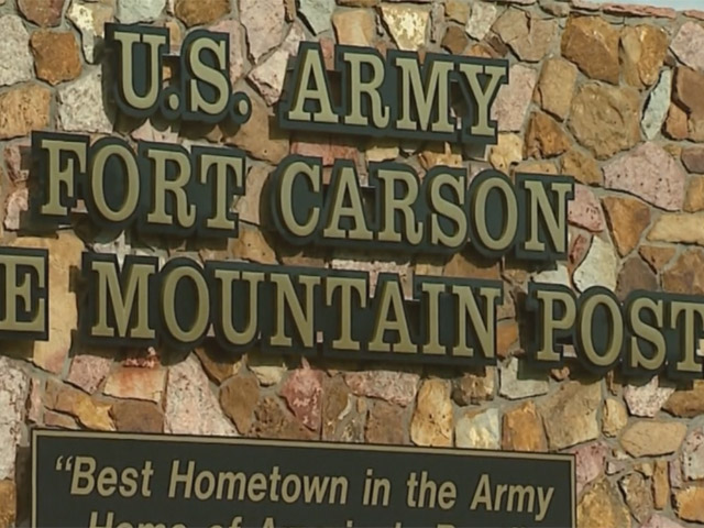 Fort Carson Army Post (credit: CBS)