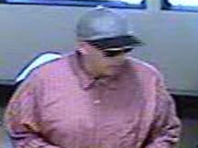 The FBI and Denver police are searching for the man who robbed the Colorado State Bank and Trust at 3610 E. 1st Ave. (credit: FBI)