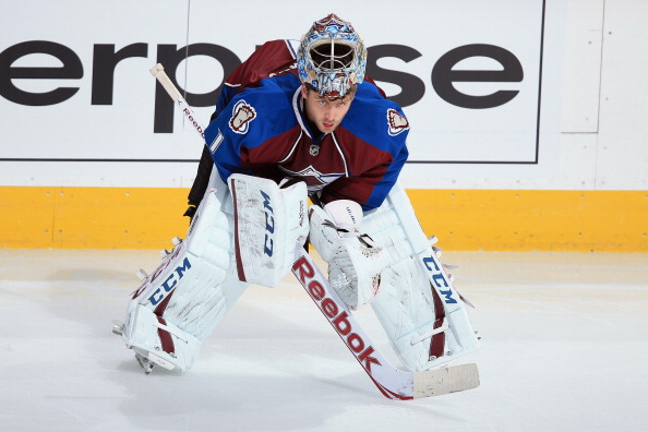 Goalie Semyon Varlamov #1 of the Colorado Avalanche (Photo by Doug Pensinger/Getty Images)