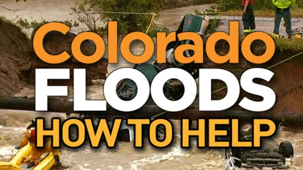 Colorado Floods How to Help