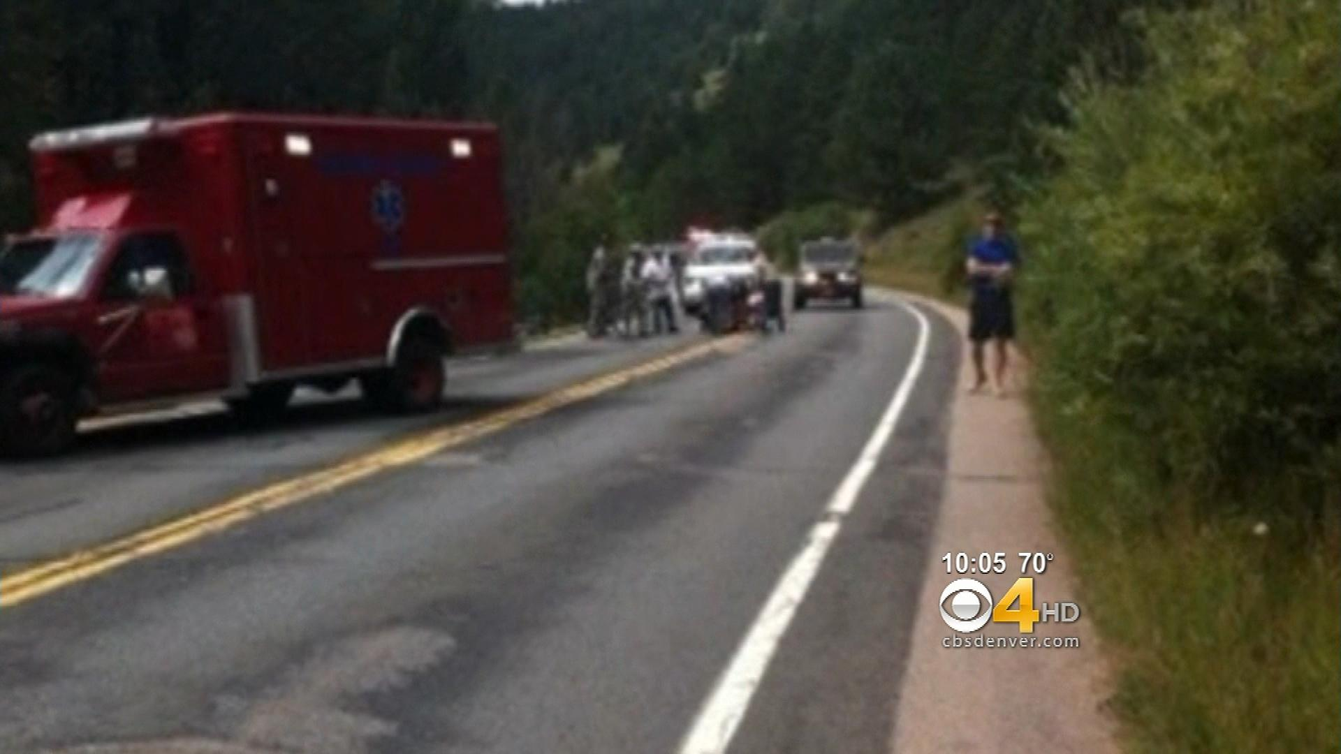 An image from the scene (credit: Colorado State Patrol)