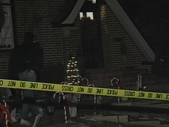 The Boulder home where JonBenet Ramsey's body was found. (credit: CBS)