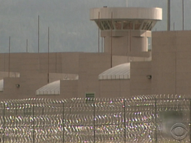 Supermax prison in Florence (credit: CBS)