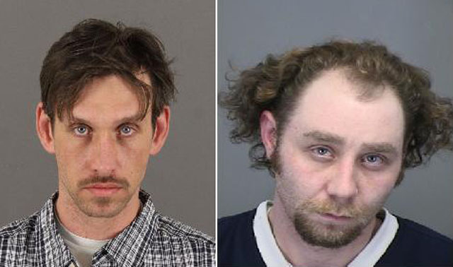 Christopher Jason Bahl, left, Gary Crowther, right (credit: CBS)