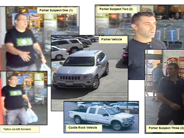 The suspects (credit: Arapahoe County Sheriff's Department)