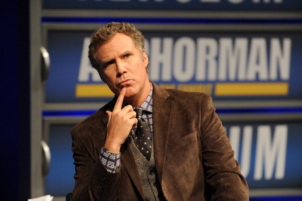 WASHINGTON, DC - DECEMBER 03: Will Ferrell speaks to a VIP Newseum audience at a special evening with the 'Anchorman' star at Annenberg Theater on December 3, 2013 in Washington, DC. (Photo by Larry French/Getty Images)