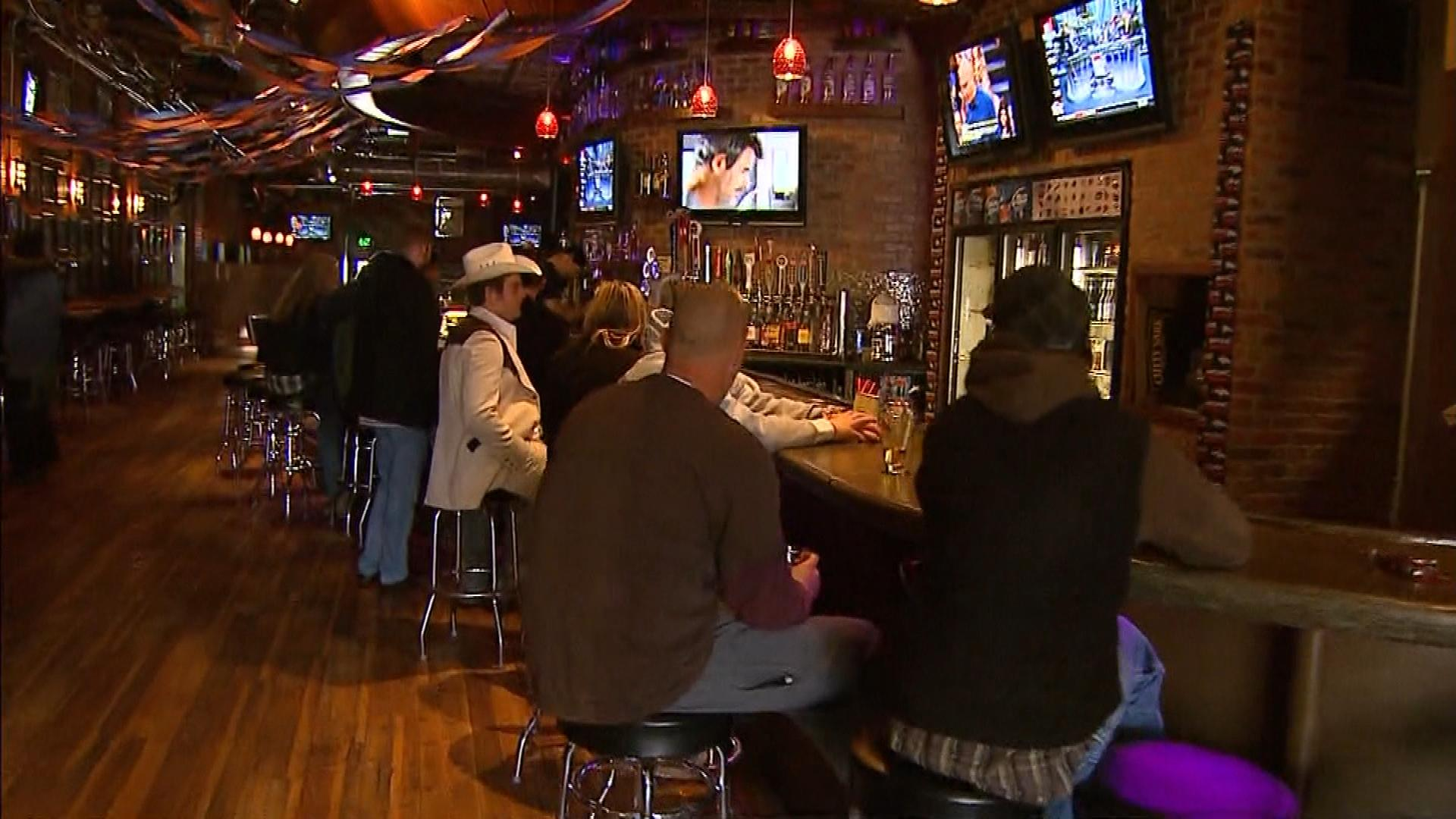 Tony's Bar In Old Town, Fort Collins (credit: CBS)