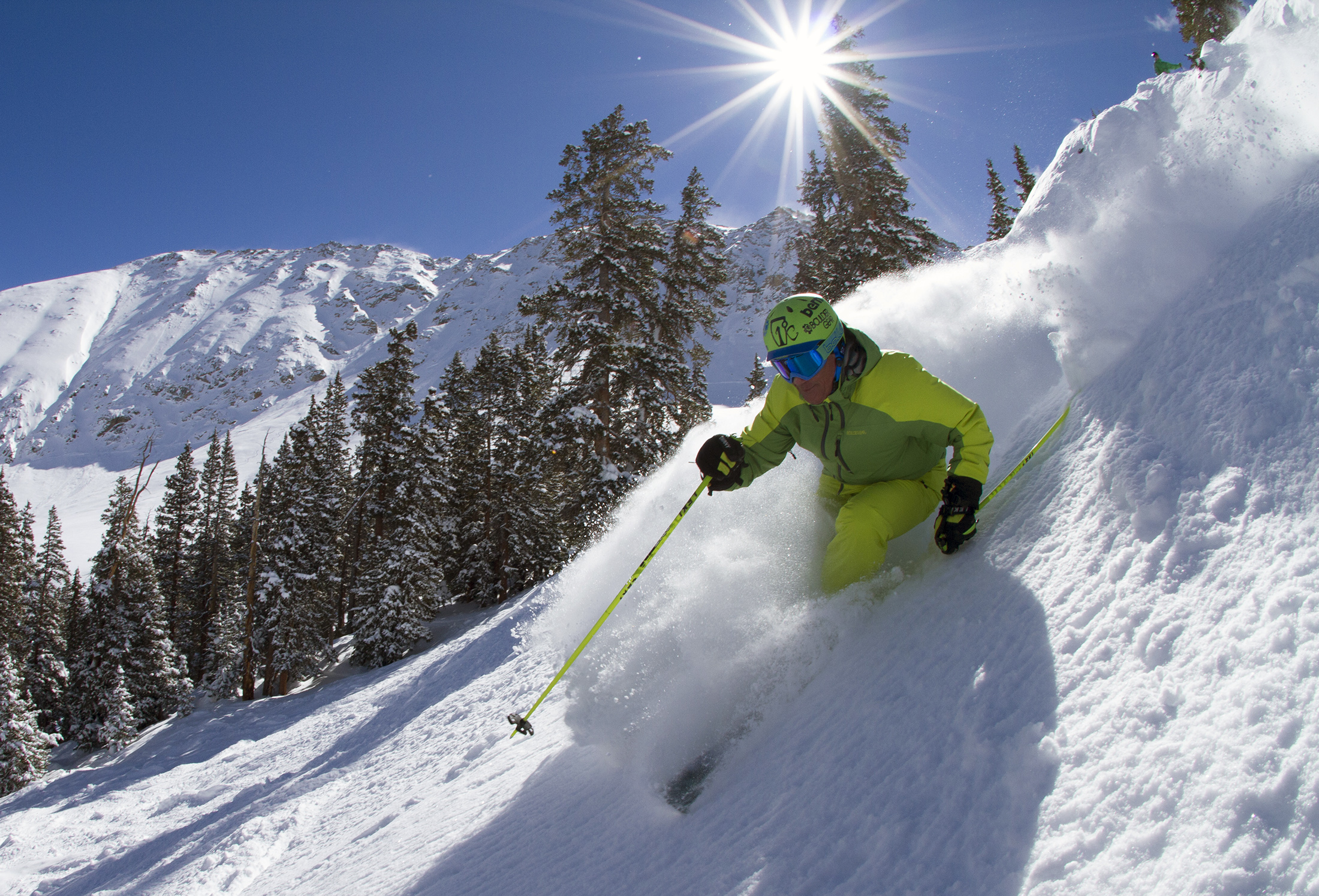 Photo taken at Arapahoe Basin Ski Area by Casey Day of Silver Plume.