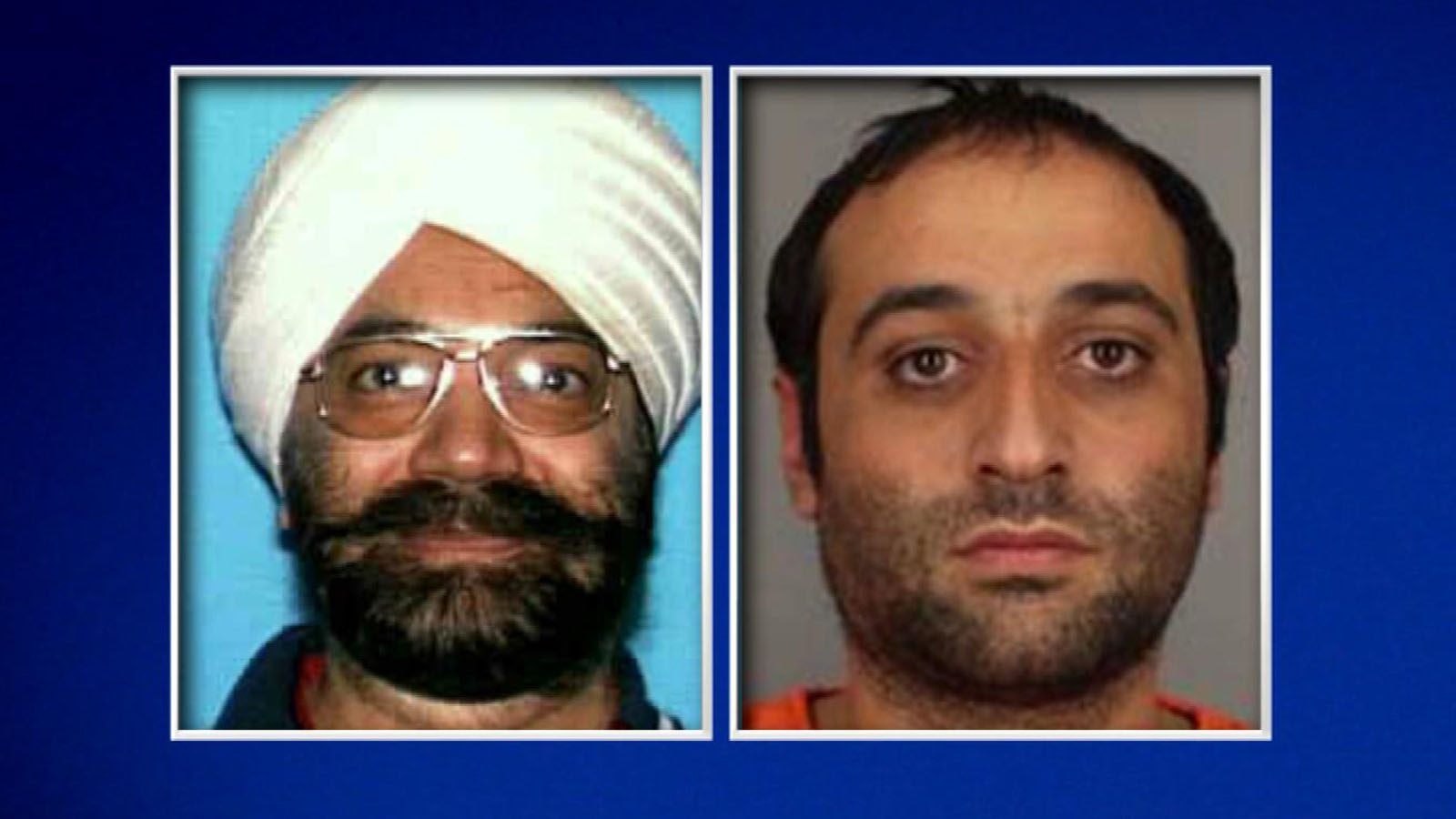 Karen Gasparyan and Mohinder Grover (credit: Attorney General's Office)