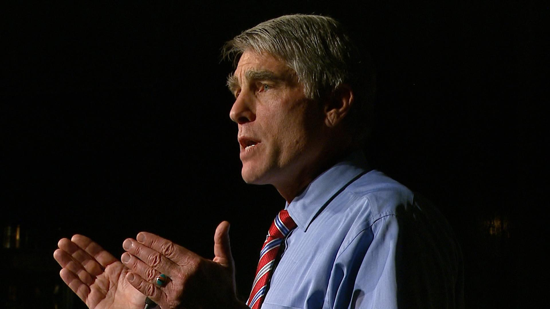 Sen. Mark Udall (credit: CBS)