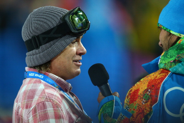 Burton Snowboards CEO Jake Burton talks to media before the Snowboard Men's Halfpipe Finals on day four of the Sochi 2014 Winter Olympics at Rosa Khutor Extreme Park on February 11, 2014 in Sochi, Russia.  (Photo by Cameron Spencer/Getty Images)