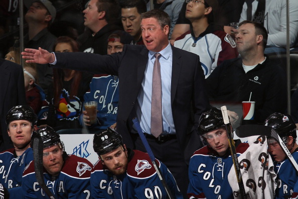 Head coach Patrick Roy of the Colorado Avalanche (Photo by Doug Pensinger/Getty Images)