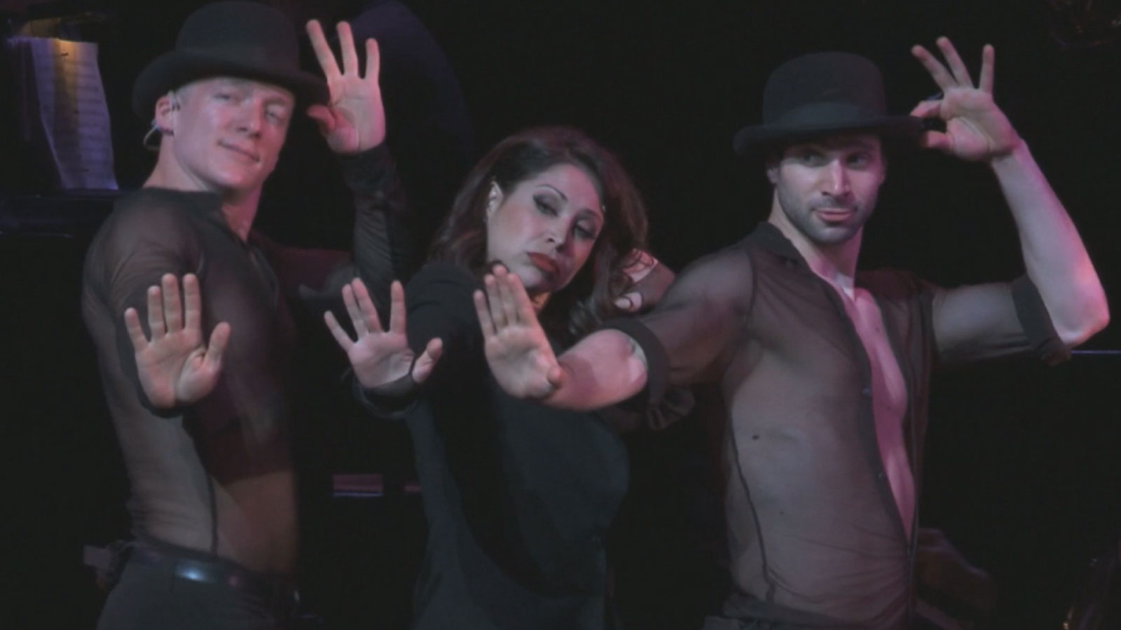 """Bianca Marroquin in the Broadway production of """"Chicago."""" (credit: CBS)"""