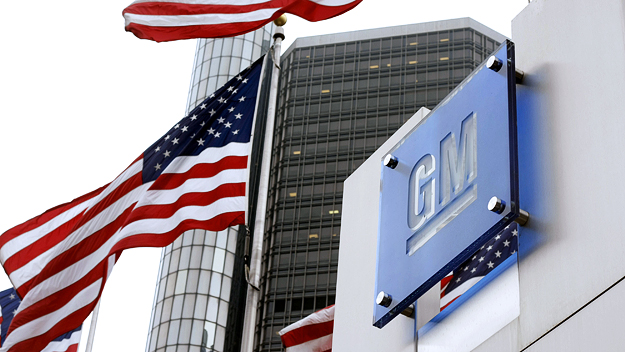 The world headquarters of General Motors in Detroit (Photo credit: Bill Pugliano/Getty Images)
