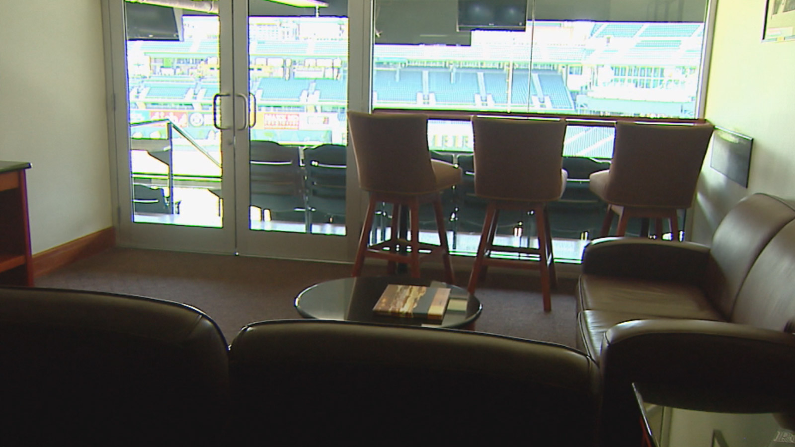 Luxury suite 42 at Coors Field (credit: CBS)