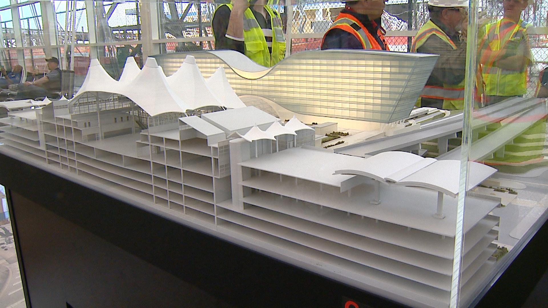 Plans for the airport (credit: CBS)