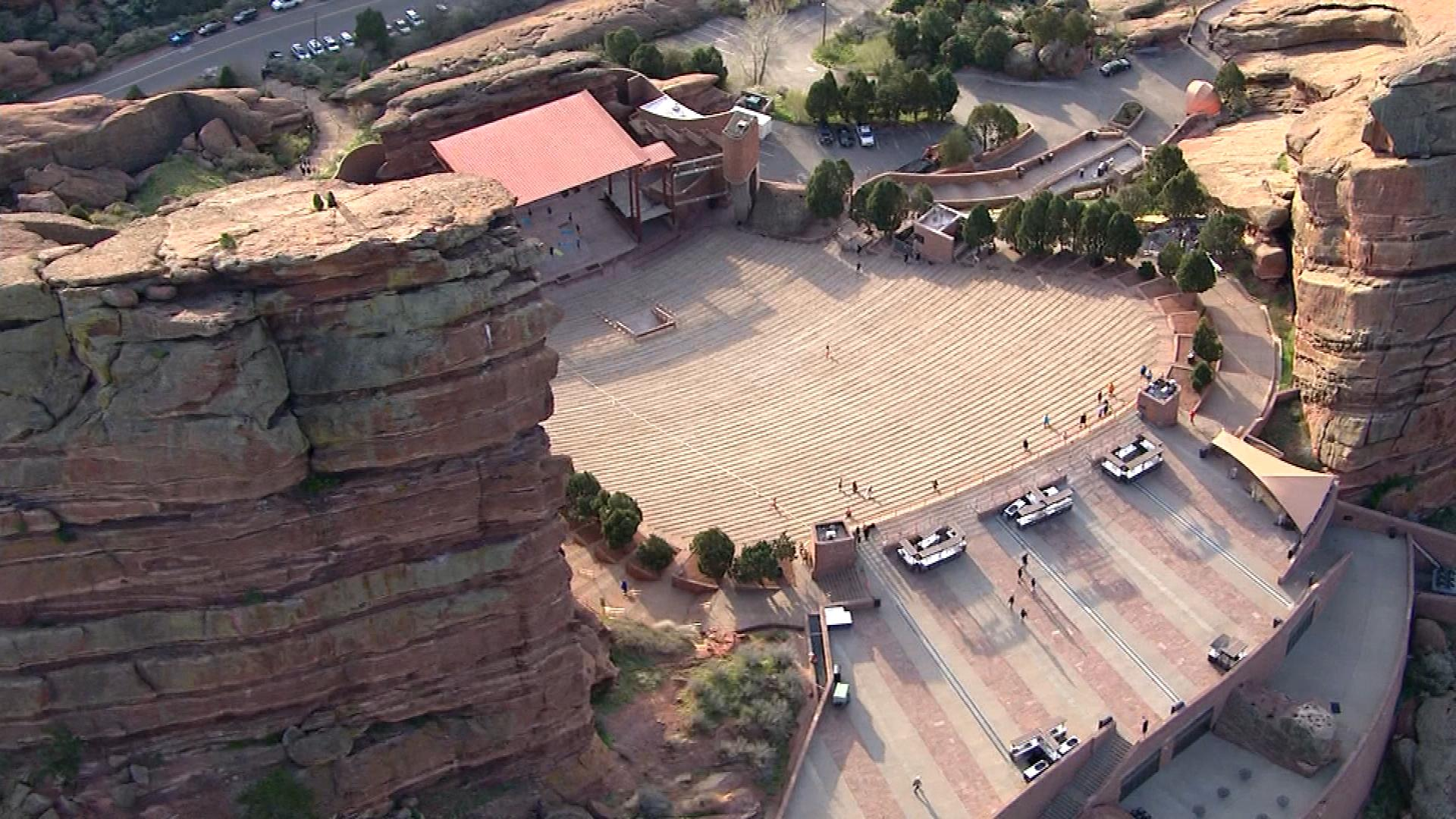 Red Rocks Amphitheater (credit: CBS)