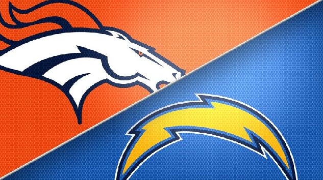 Broncos San Diego Chargers Logo