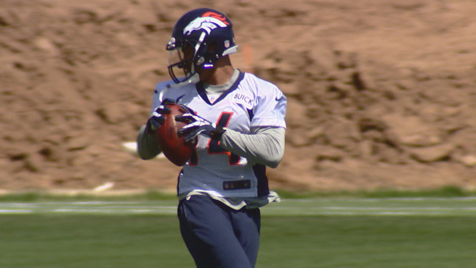 Broncos Rookie Wide Receiver Cody Latimer (credit: CBS)