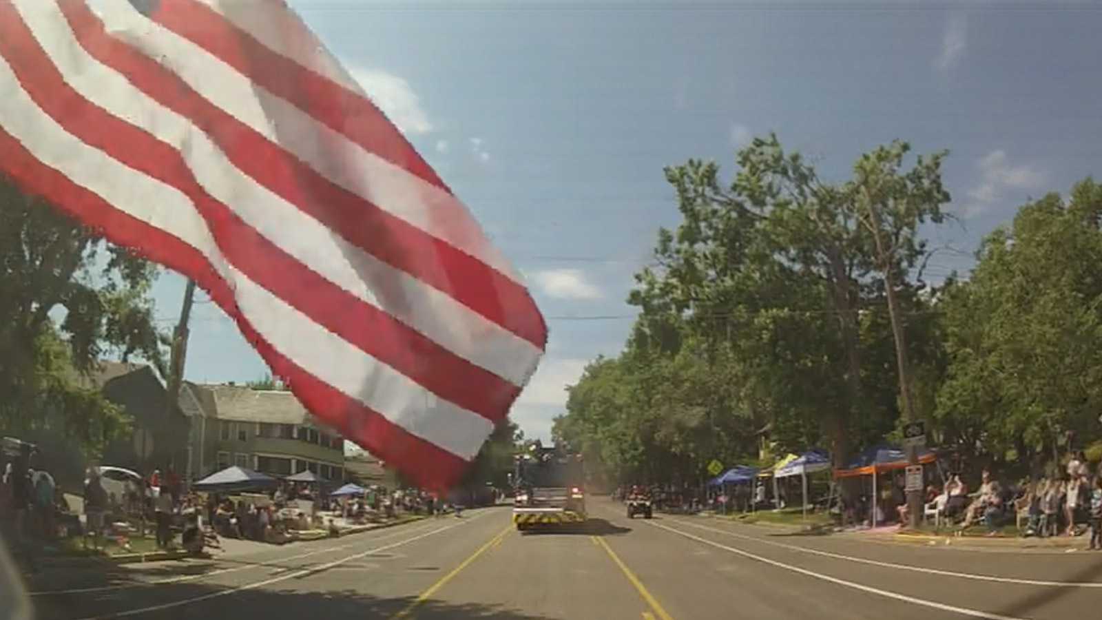 The Mobile Weather Lab was featured in the Greeley Stampede Parade (credit: CBS)