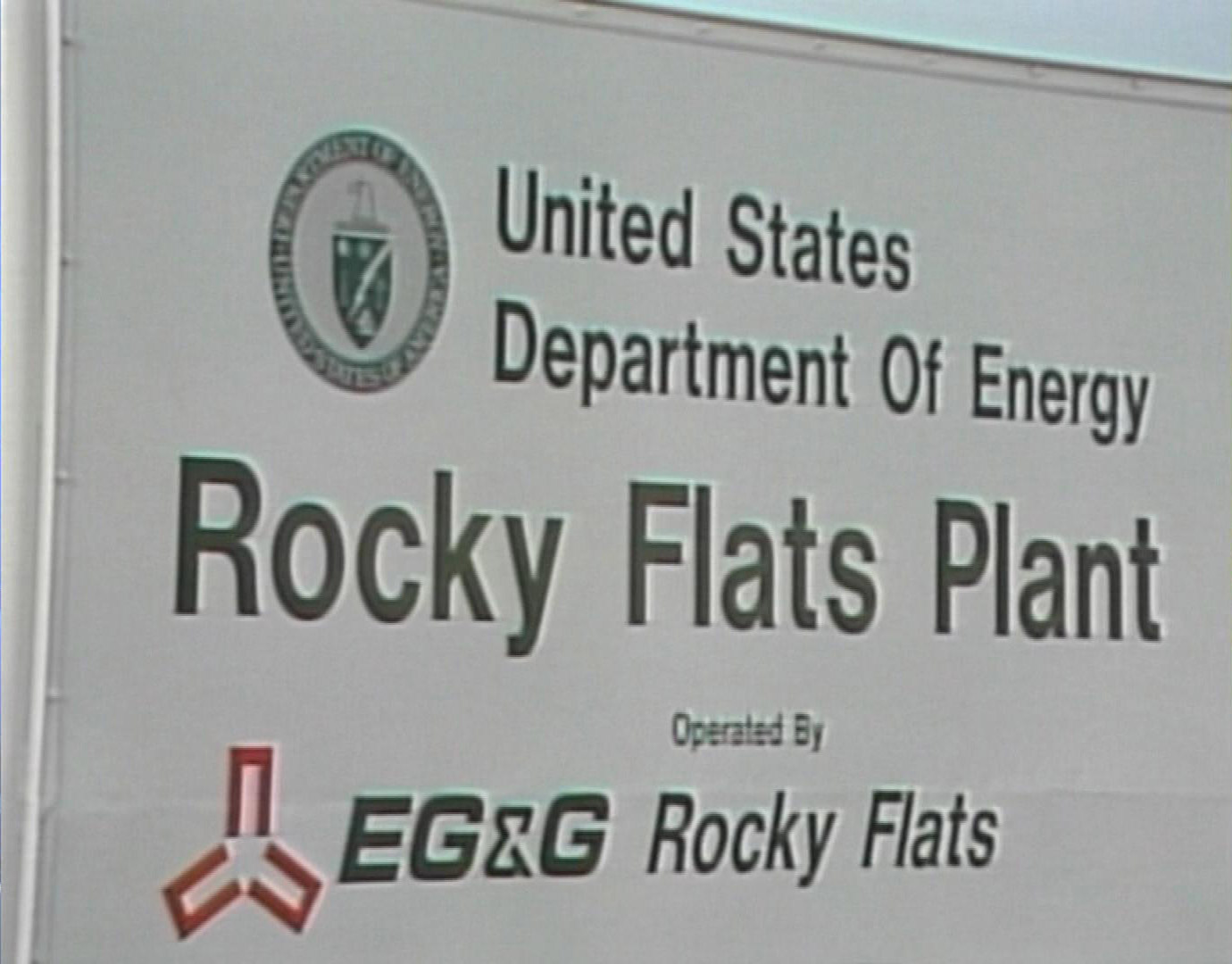 United States Department of Energy Rocky Flats Plant in Colorado (file photo credit: CBS)