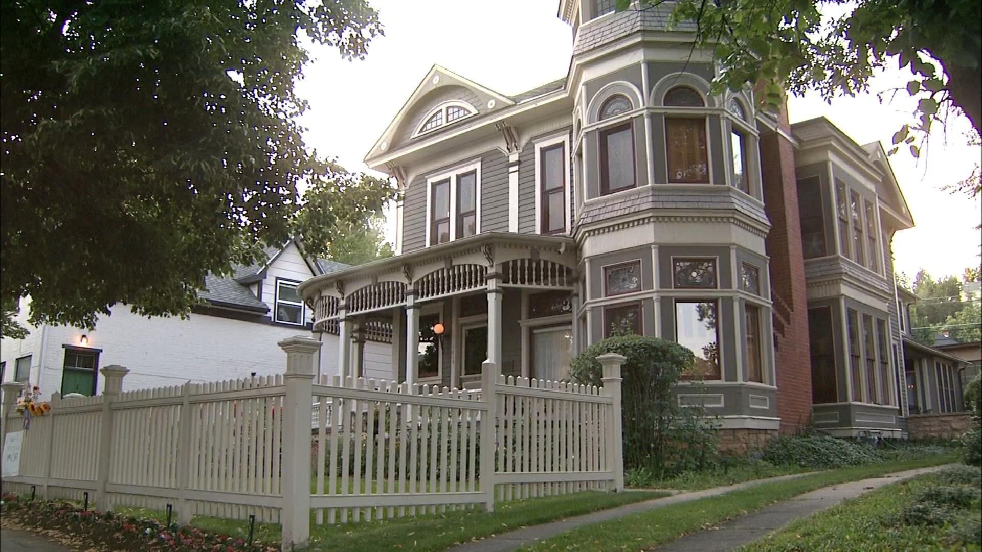 The Mork & Mindy House in Boulder (credit: CBS)