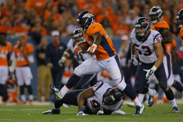 Running back Juwan Thompson #40 of the Denver Broncos (Photo by Justin Edmonds/Getty Images)